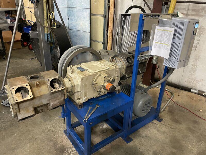 horizontal-oil-free-recip-compressor-overhual.