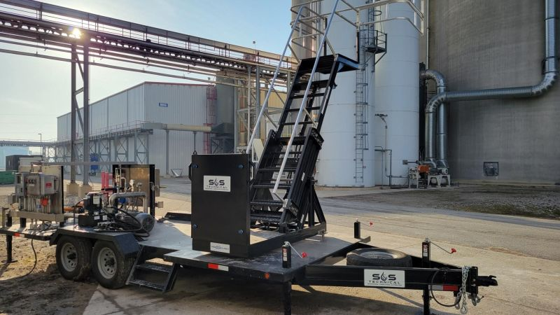 Alcohol Mobile Transload Unit with DOT Trailer Package