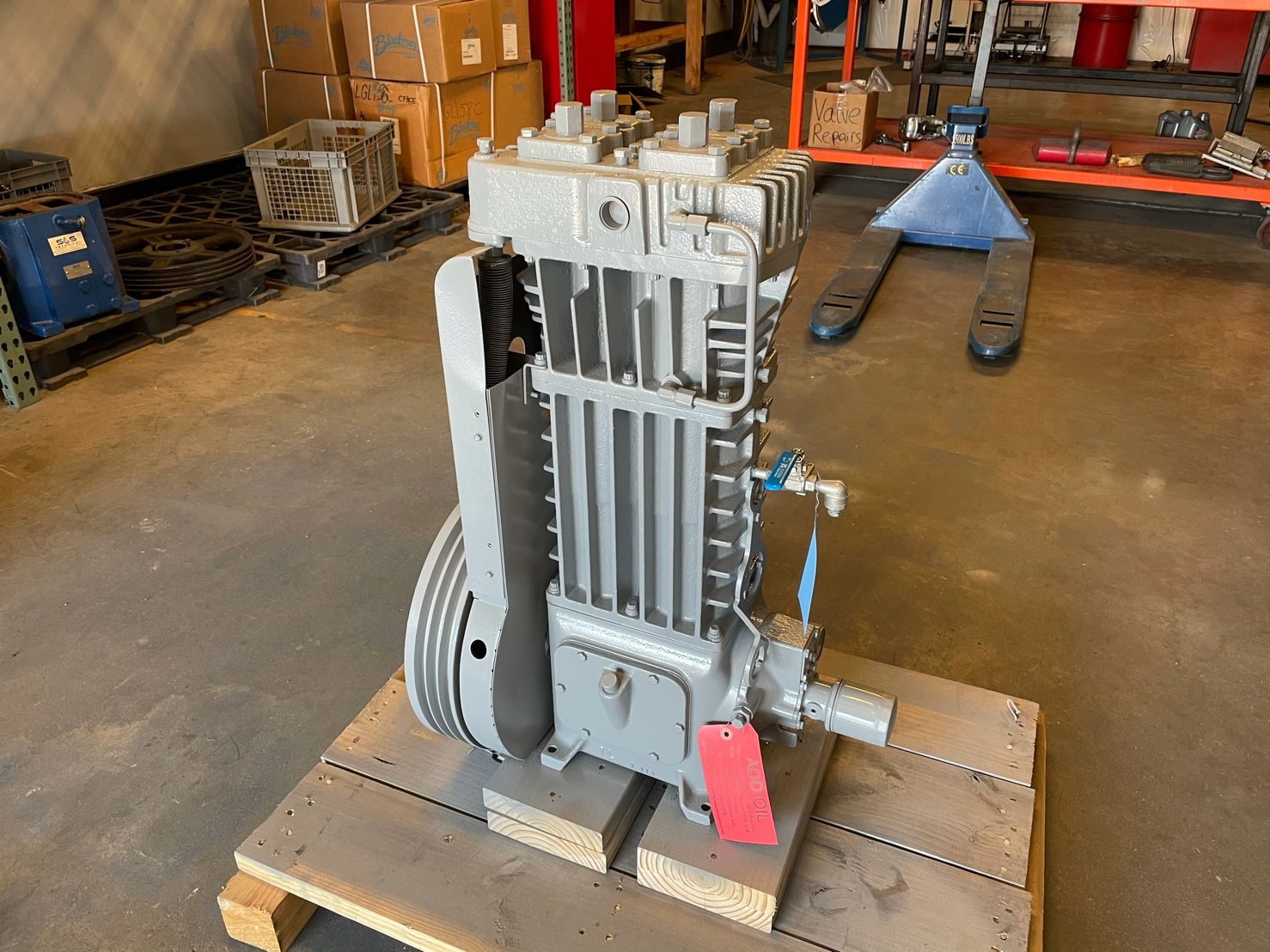 Corken Compressor Overhaul