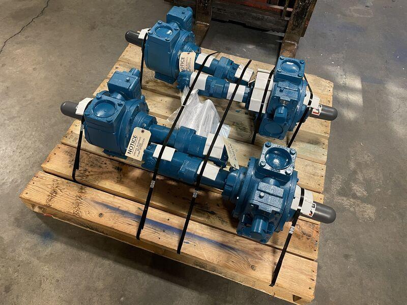 BLACKMER® TXD3E Pumps with Hydraulic Motors
