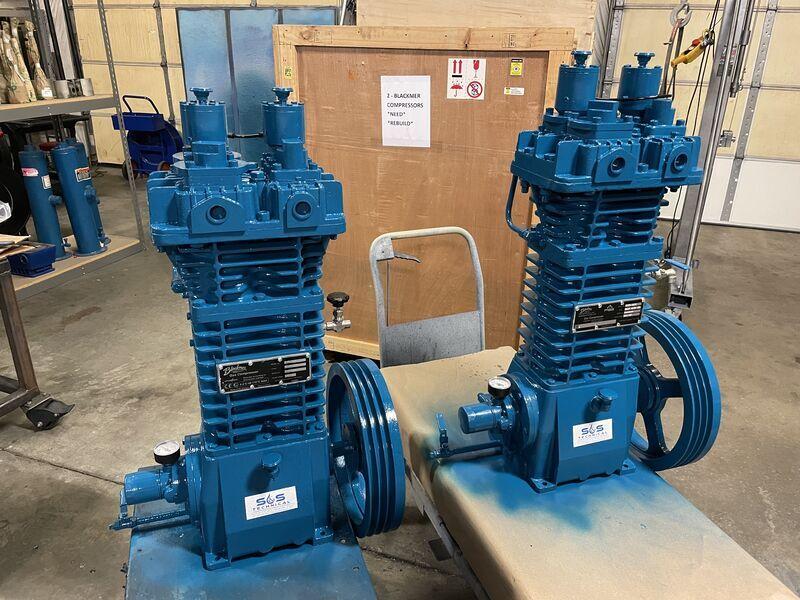 BLACKMER® high pressure, two-stage CO2 compressors