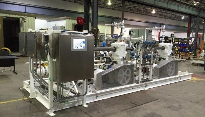 Blackmer HD942B LPG Railcar Unloading Compressor System