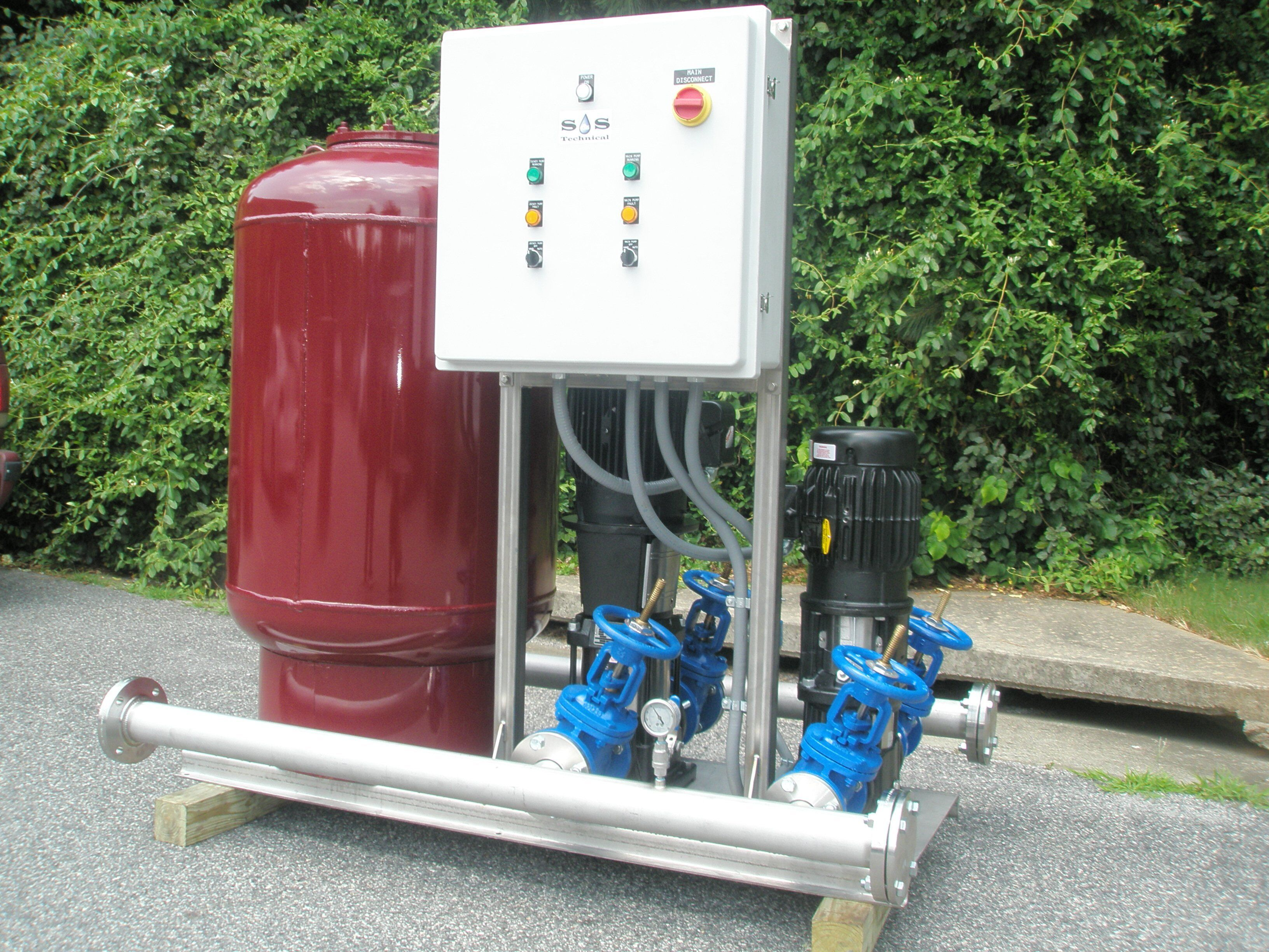 Packaged Booster Skid System Manufacturer