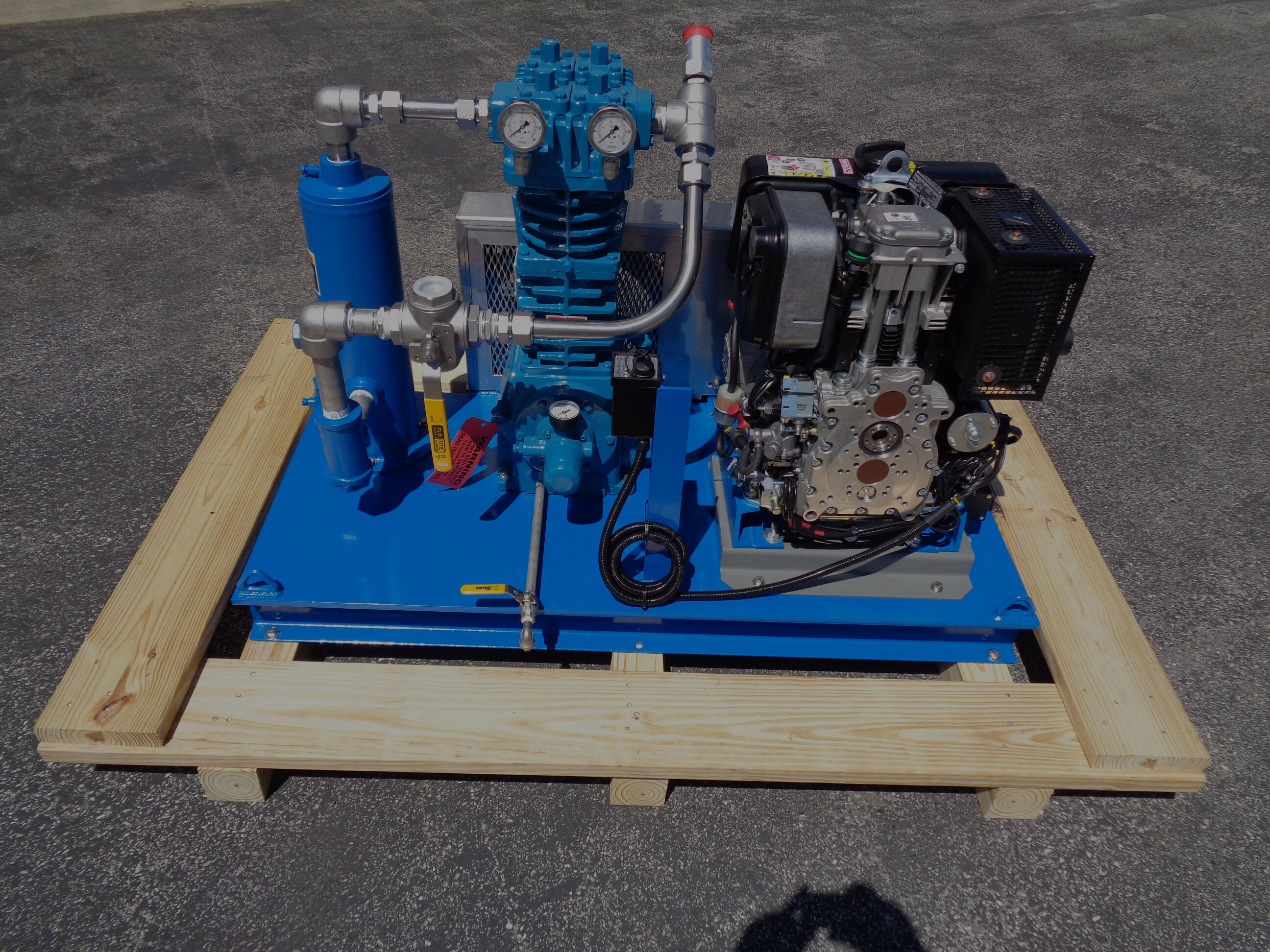 Blackmer Diesel Drive Compressor Package S Amp S Technical Inc