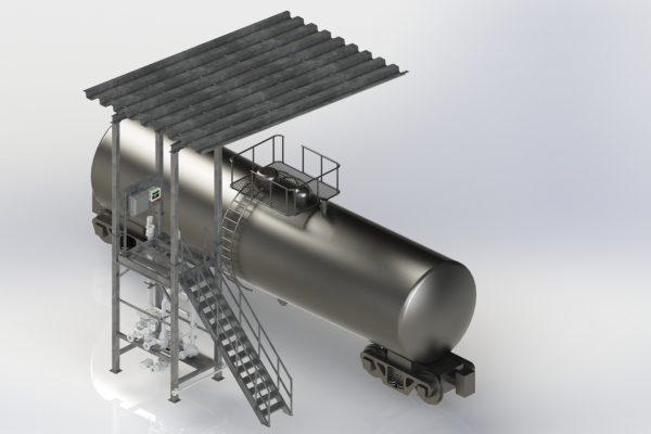 Canopy Platform Reversed Iso