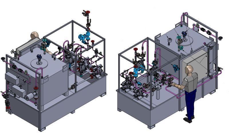 Custom Solution to Deliver Windshield Washer Fluid