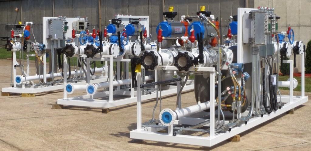 Ethanol Biofuel Loading Unloading Skid Systems