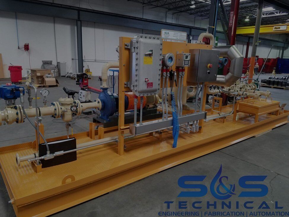 Refined Fuel & Condensate Loading Skid Systems