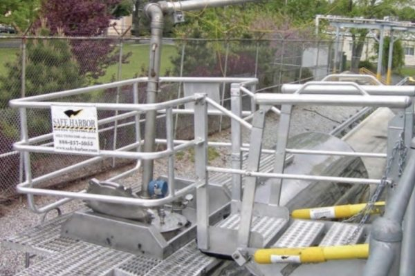 Gangway Safety Cage