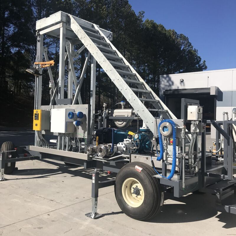 Gasoline/Diesel Mobile Transloading Unit