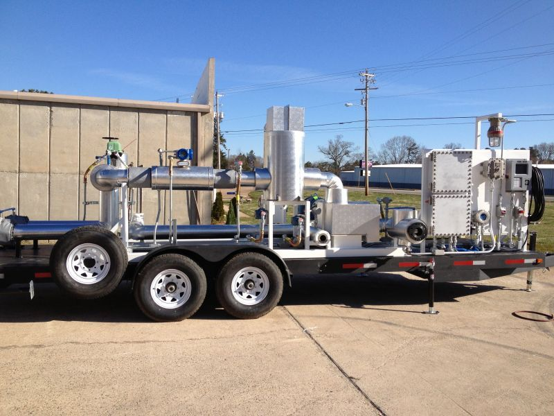 Heated : Insulated Mobile Transloading Solutions