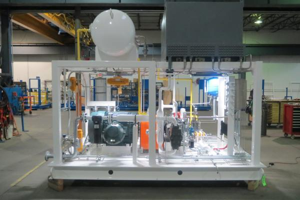 cng compressor package