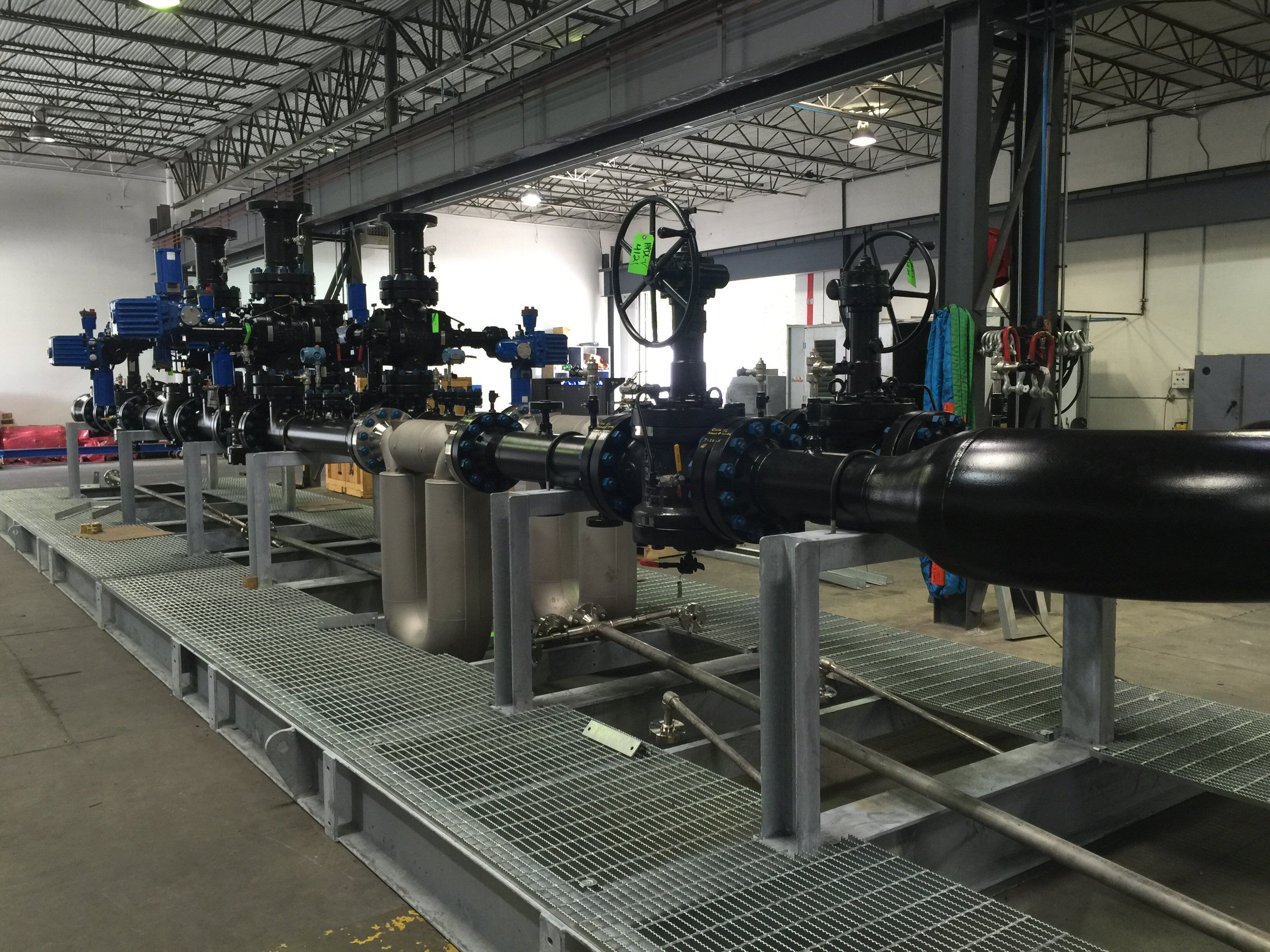 Pipeline Metering Systems S Amp S Technical Inc