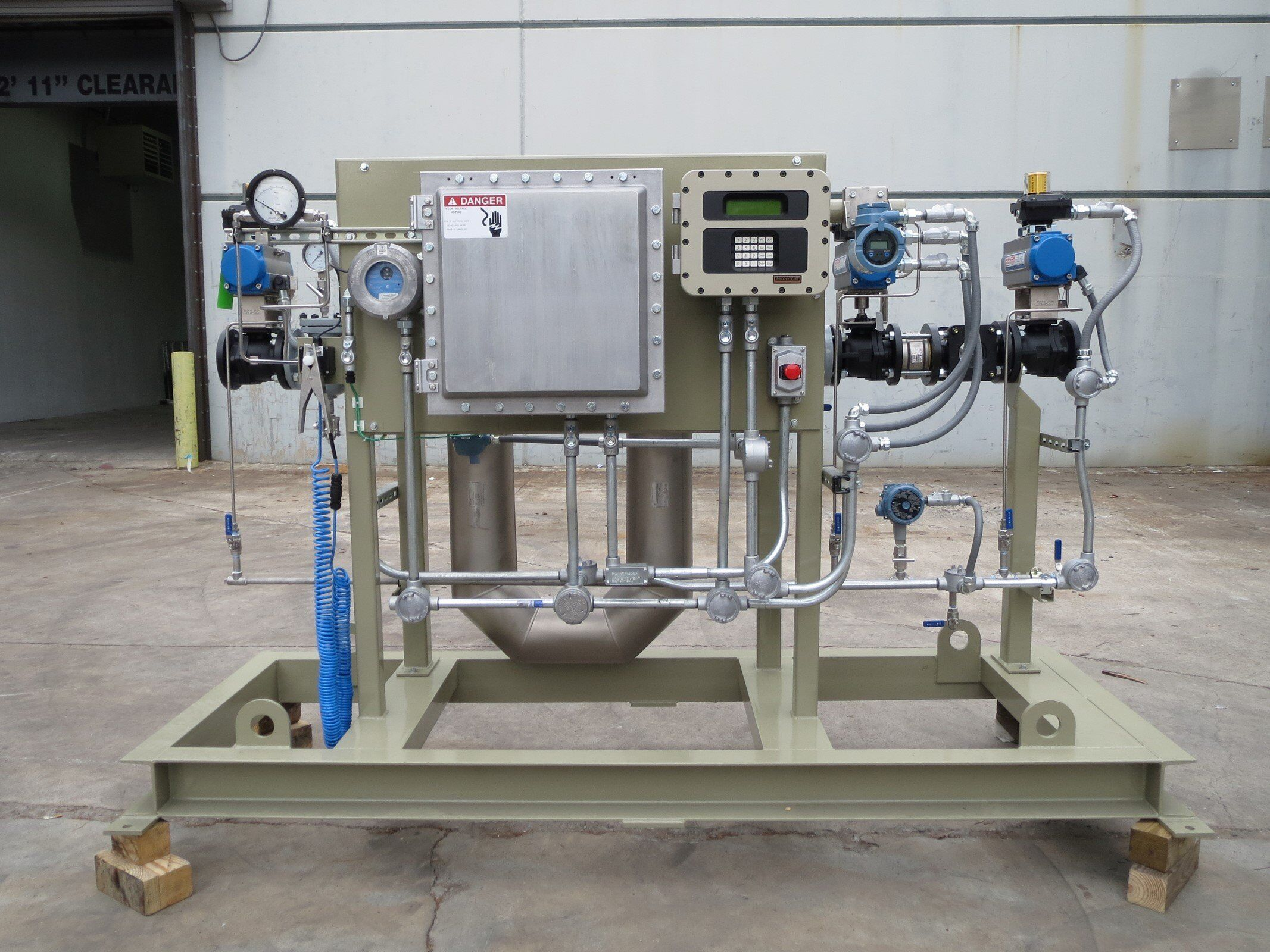 Meter-Skid-with-FMC-Accuload-III-Load-Controller