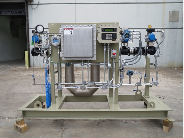 Meter Skid with FMC Accuload Load Controller