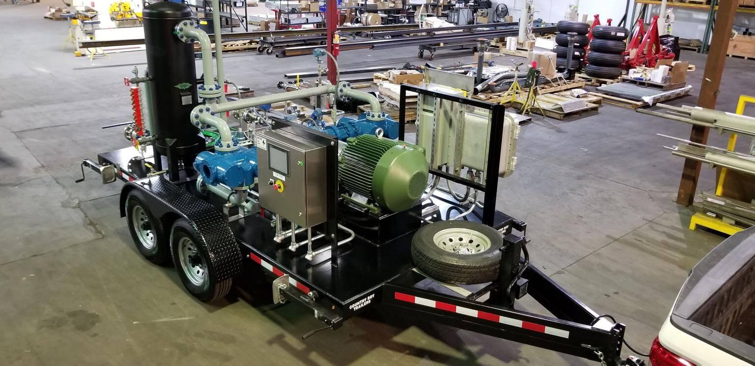 Mobile Propane Vapor Recovery Unit