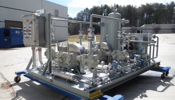 Natural Gas Boosting System