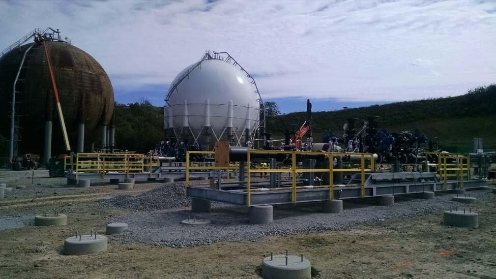 Pipeline-Meter-Skid-Installation-site