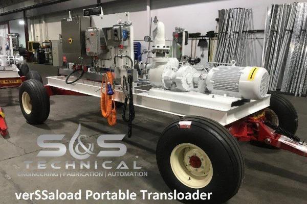 Portable transloader, mobile transloader-3