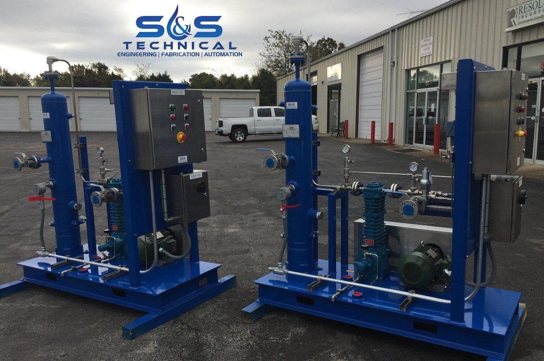 Refrigerant Recovery Compressor Systems