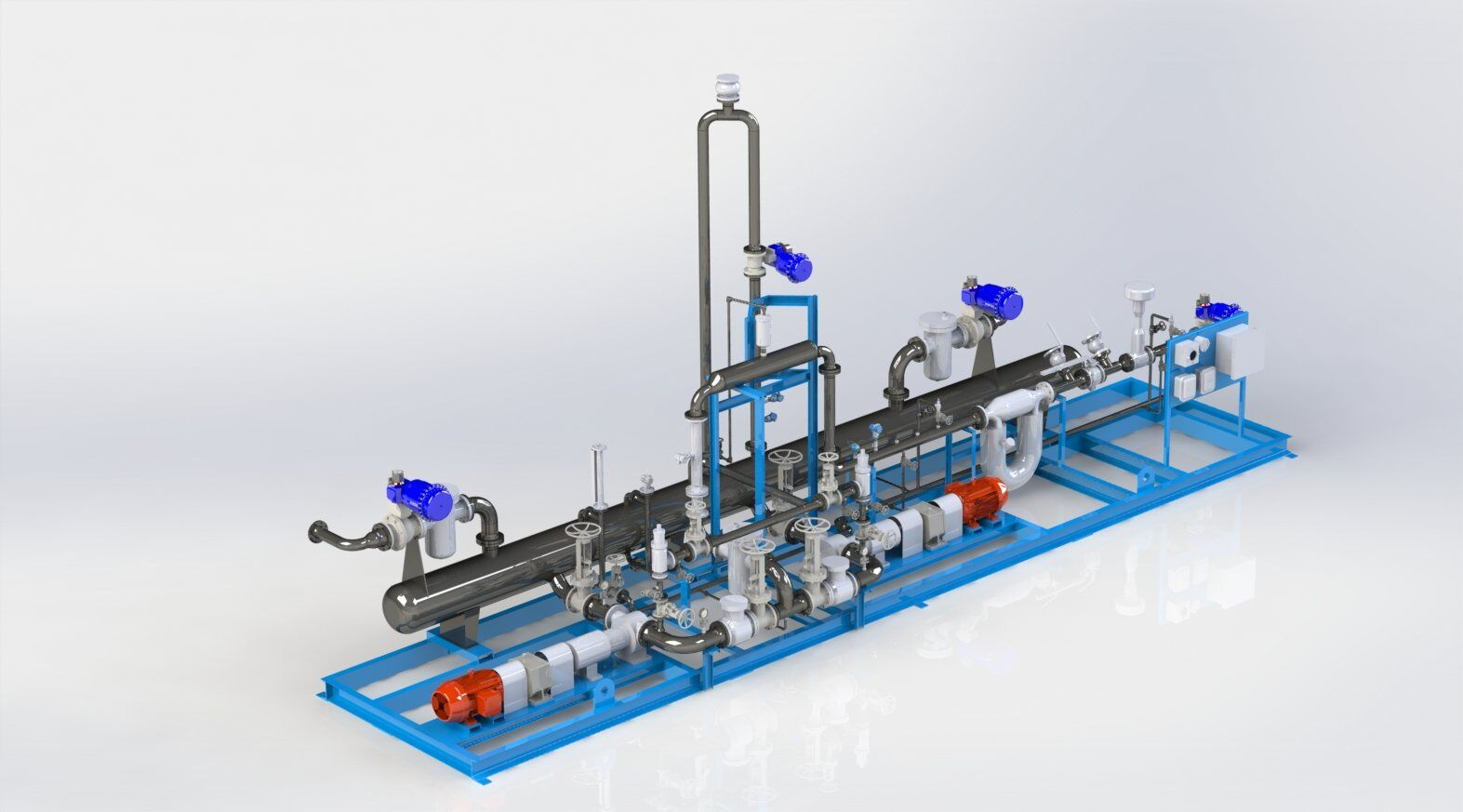 Lease Automatic Custody Transfer Skid Systems LACT Units