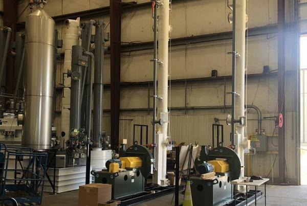 Truck & Railcar Sulfuric Acid Loading Vapor Scrubber Skids