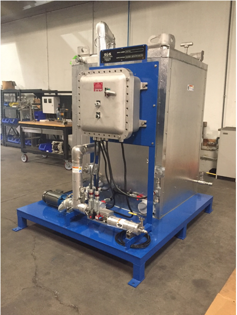 additive system with a built in storage tank
