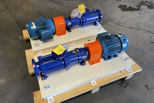 Ammonia Forwarding Pump Skids