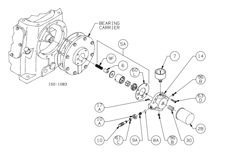 blackmer compressor part LB361B