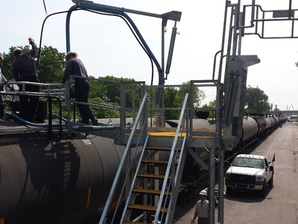 Truck And Railcar Loading Skid Safety S Amp S Technical Inc