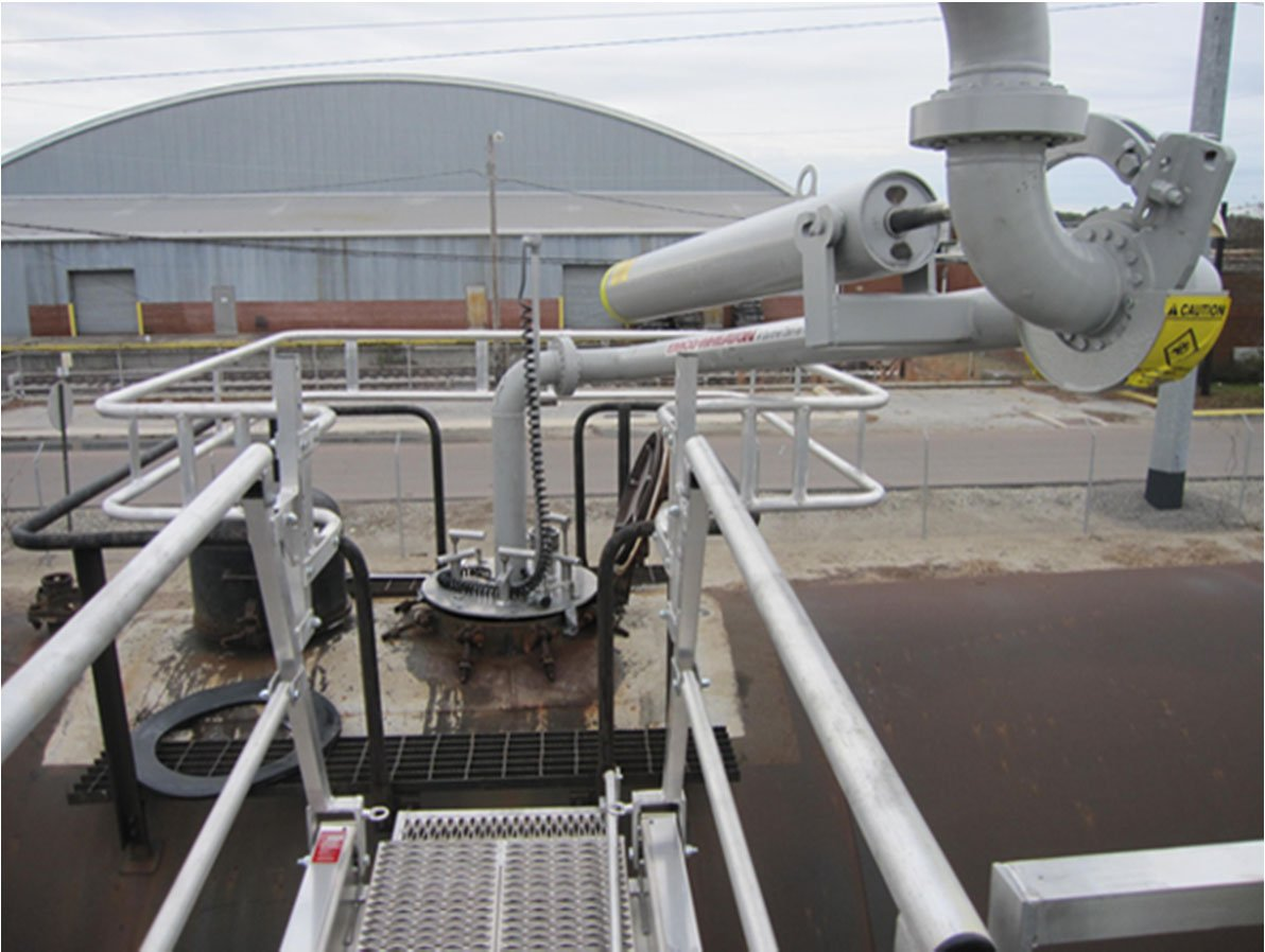 emco wheaton rail car loading arm