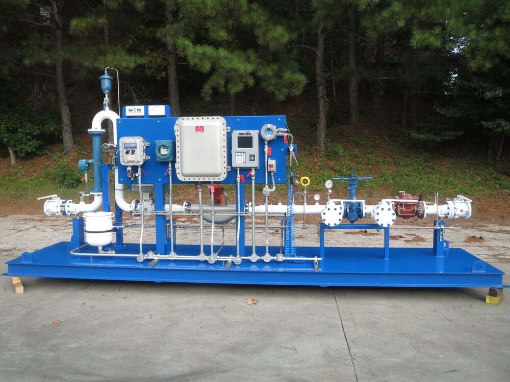 Ethanol Loading And Unloading Skidson Eh Grounding System