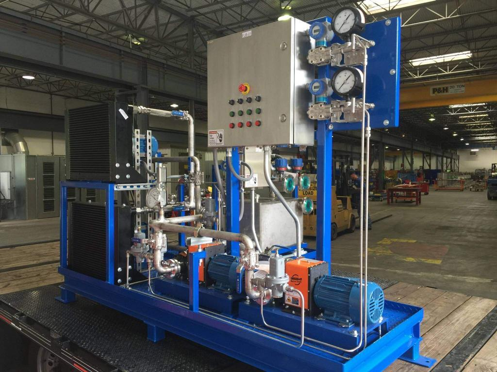 Heat Exchanger Transfer Skid Packages