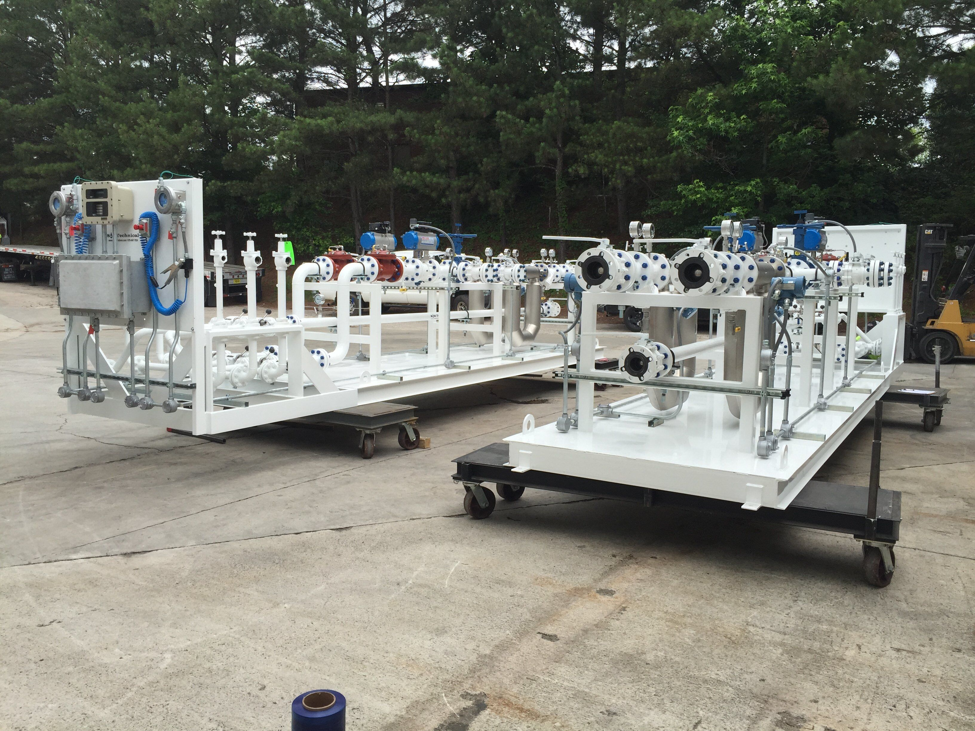 Truck Loading-Unloading Skid Systems - S&S Technical, Inc