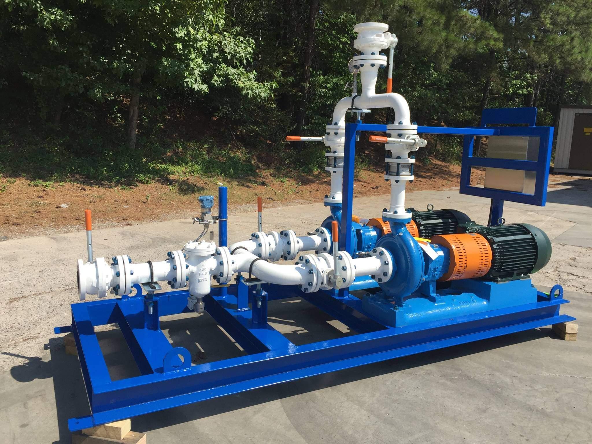 Packaged Pump Skid Systems - Pump Skid