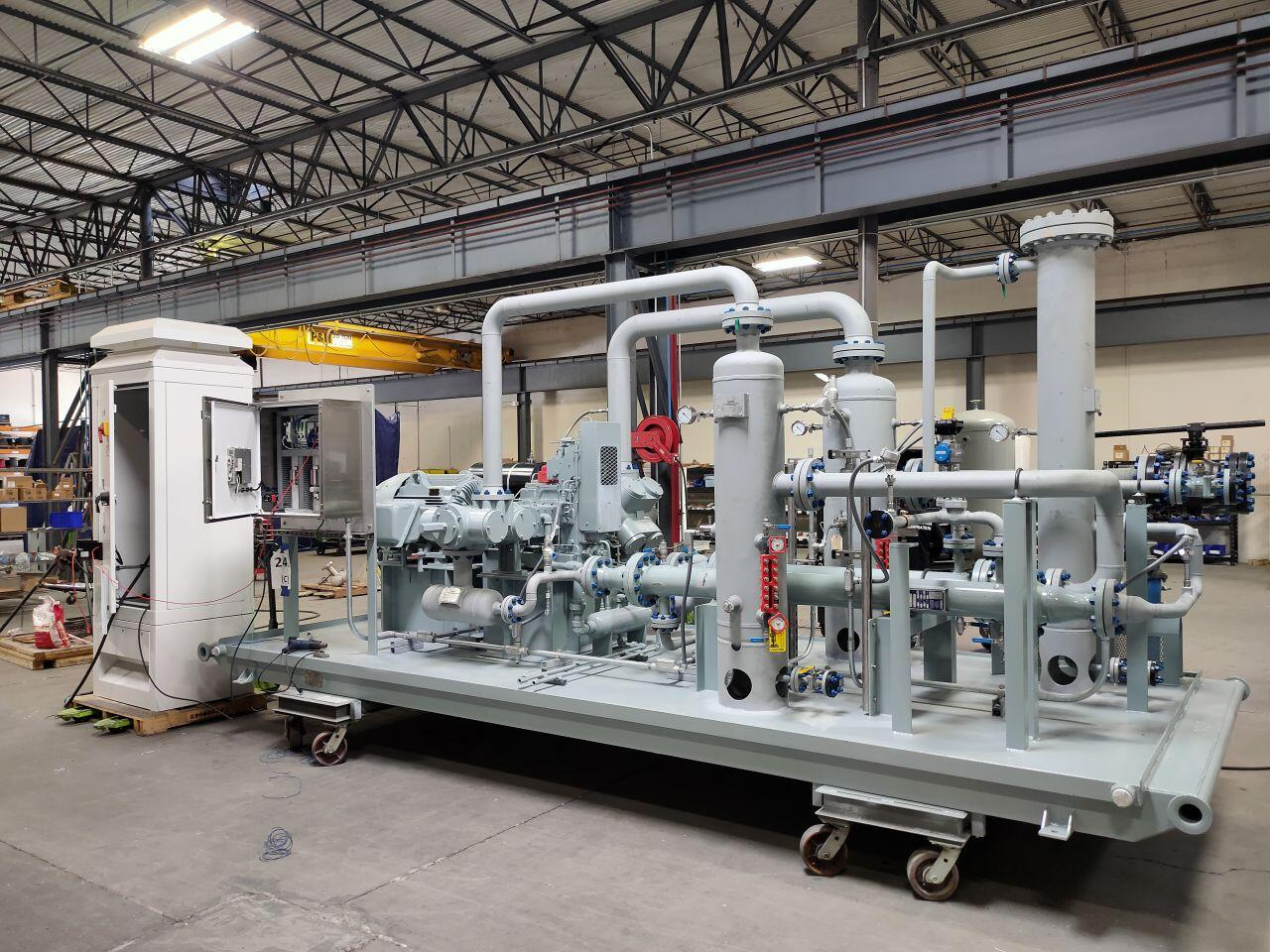 refrigerant recovery compressor packages